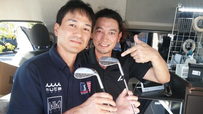 A GRIND・赤穂勇介氏とお客様